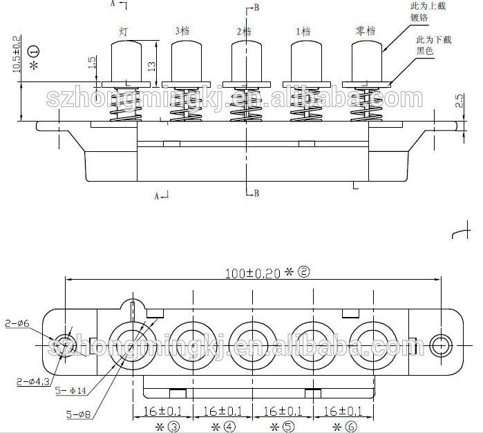 首页 产品中心 琴键开关  产品编号:11145-156 产品型号:hm-ks-1805